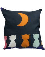 IMONO CUSHION P-004 BLUE NAVY (INCLUDE PILLOW)