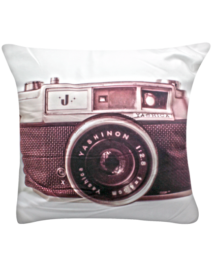 IMONO CUSHION CAMERA DARK BROWN (INCLUDE PILLOW)