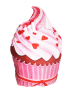 IMONO CUSHION CUPCAKE SHAPE (INCLUDE PILLOW)