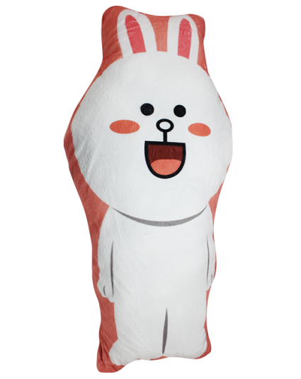 IMONO CUSHION WHITE RABBIT (INCLUDE PILLOW)