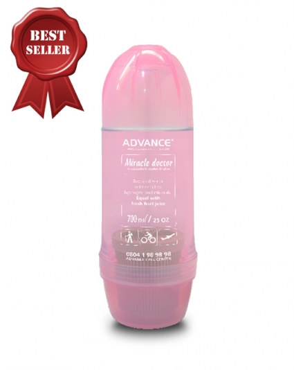 ANTIOXIDANT WATER MAKER MD BOTTLE PINK