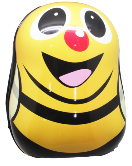Cartoon School Bag Yellow BumbleBee