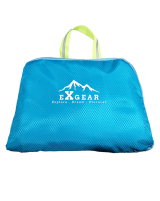 FOLDABLE BAG EXGEAR - BLUE