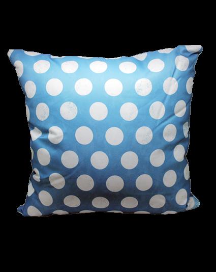 IMONO WATERPROOF CUSHION - BLUE DOTTY