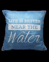 IMONO WATERPROOF CUSHION - BLUE