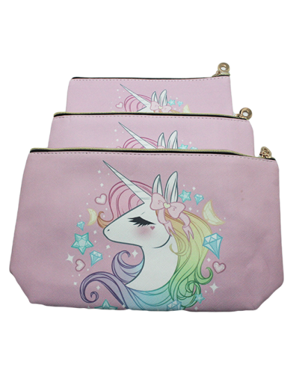 COSMETIC POUCH - UNICORN