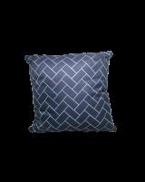 IMONO WATERPROOF CUSHION - WHITE BLUE