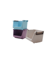 IMONO PLASTIC STORAGE BOX - BLUE