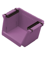 IMONO PLASTIC STORAGE BOX - PURPLE