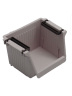 IMONO PLASTIC STORAGE BOX - GREY