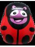 Cartoon School Bag Red Lady Bug